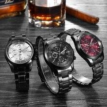 1pc Men male student sports Watches Clock gift Full cute Quartz Wristwatches relogio masculino mini Steel fashion Casual  H5