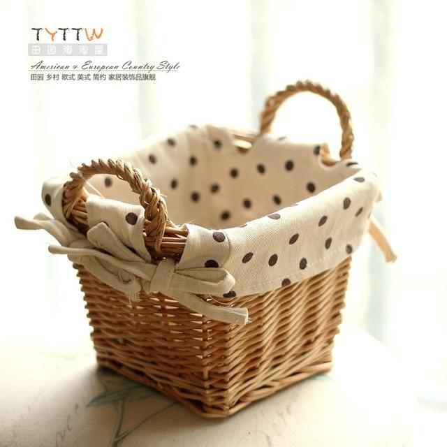 Small Wicker Baskets 17 5 12cm
