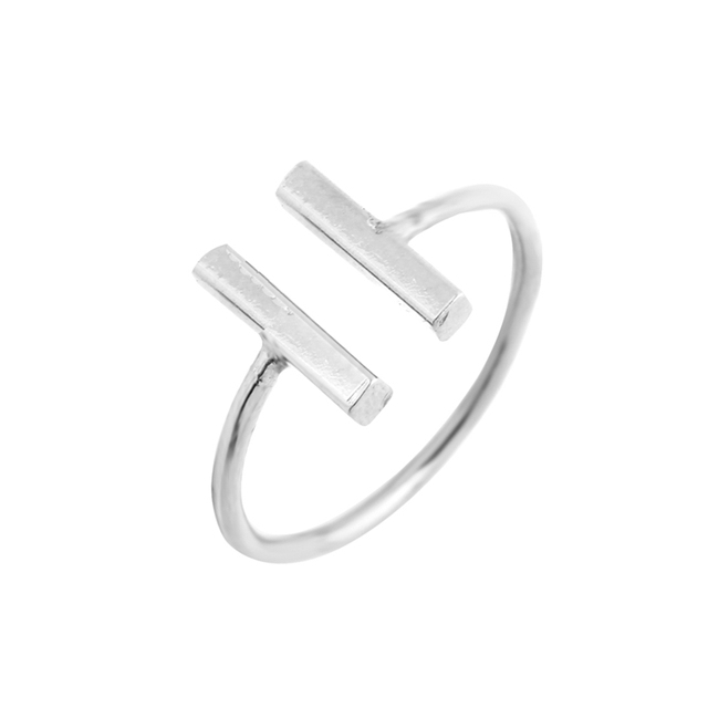 Double Bar Adjustable Ring
