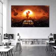 Alita Battle Angel Movie Anime Vintage Wallpaper Art Canvas Poster Painting Wall Picture Print Home Bedroom Decoration Artwork