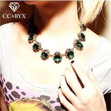 Cc vintage colar para gargantilhas colares pingentes hyperbole clavícula corrente acessórios pingente jóias de luxo ccn168a