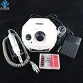 OPHIR 30000RPM Professional White Electric Nail Drill Machine 110V US Plug Manicure Pedicure Kit Nail Tools_KD143W(110V)