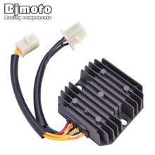 Bjmoto For Honda CH150 CH125 6wires charger CN250 CB450 XBR500S CB400N CB250N FT500 CB450N moto 12V regulator rectifier
