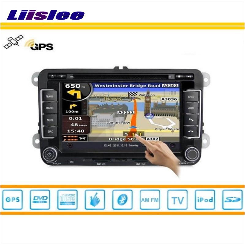 Liislee For VolksWagen VW Jetta 2005~2012 GPS Nav Navi Map Navigation System Radio TV DVD BT 3G WIFI HD Screen Multimedia System