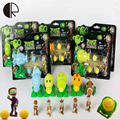1Pcs 14 Styles PVZ Plants vs Zombies Peashooter PVC Game Figures for Children Gifts with Retail Box Funny Play Kid Toys HT3476