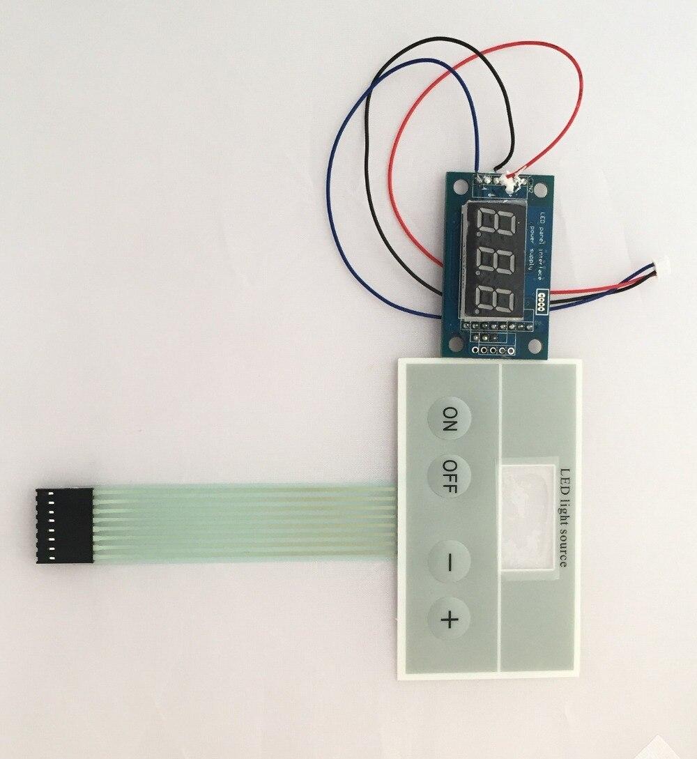 the medical endoscope 60W LED light source driver phlatlight LED drive keyboard led display S2063 10pcs per pack free shiping