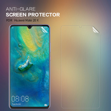 New For Huawei mate 20 X Anti-glare Screen Protector Matte Anti-fingerprint Protective Film Soft PC Matte Film enkay anti glare screen protector matte protective film guard for blackberry z10