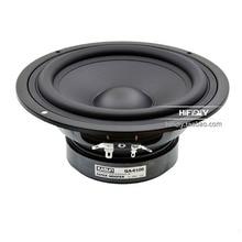 Kasun febre 6 polegada meia 7 polegada de alta fidelidade woofer alto falante QA 6100 amplificador