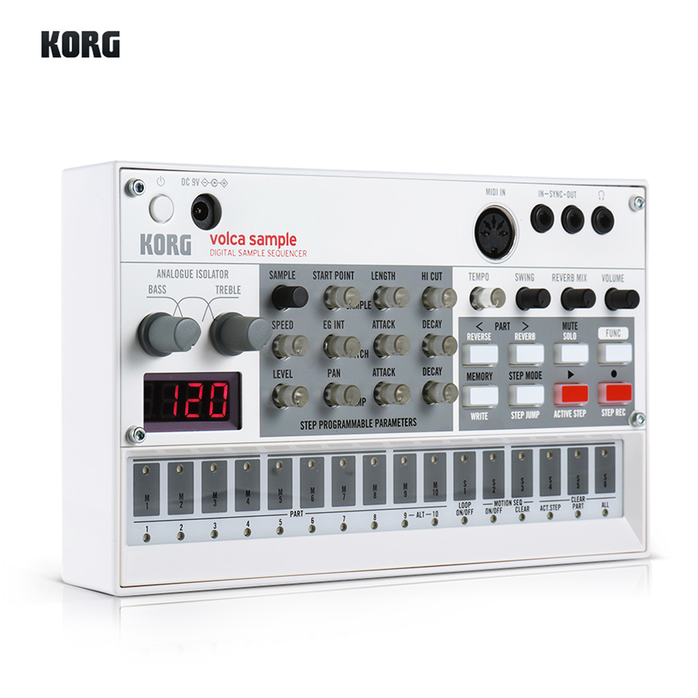 korg volca keys portable analog synthesizer synth built in delay effect loop sequencer with midi. Black Bedroom Furniture Sets. Home Design Ideas