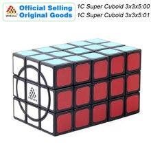 WitEden 1C Super Cuboid 3x3x5:00 01 Magic Cube 1688Cube 335 Speed Twisty Puzzle Brain Teasers Educational Toys For Children super brain