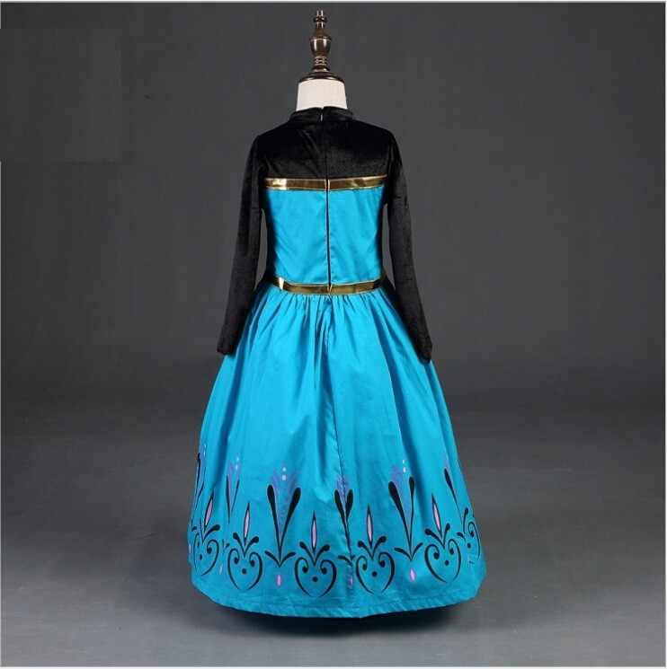 Gửi Thái Cho Bé Gái Đầm Giáng Sinh Anna Elsa Trang Phục Hóa Trang Mùa Hè Bé Gái Váy Đầm Công Chúa Cho Sinh Nhật Vestidos Menina
