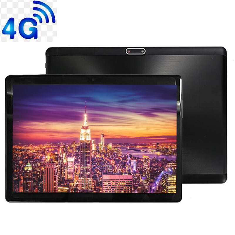 4G LTE 10' Tablet Screen Mutlti Touch Android 9.0 Octa Core Ram 6GB ROM 64GB Camera 5MP SIM Tablet PC Wifi GPS Bluetooth Phone