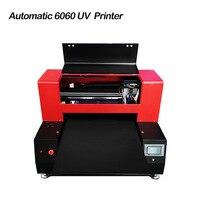 Automatic 6060 УФ-широкоформатный принтер для чехлов планшетов с 2 печатающей головки для Многофункциональный печати макс печати 600x600 мм