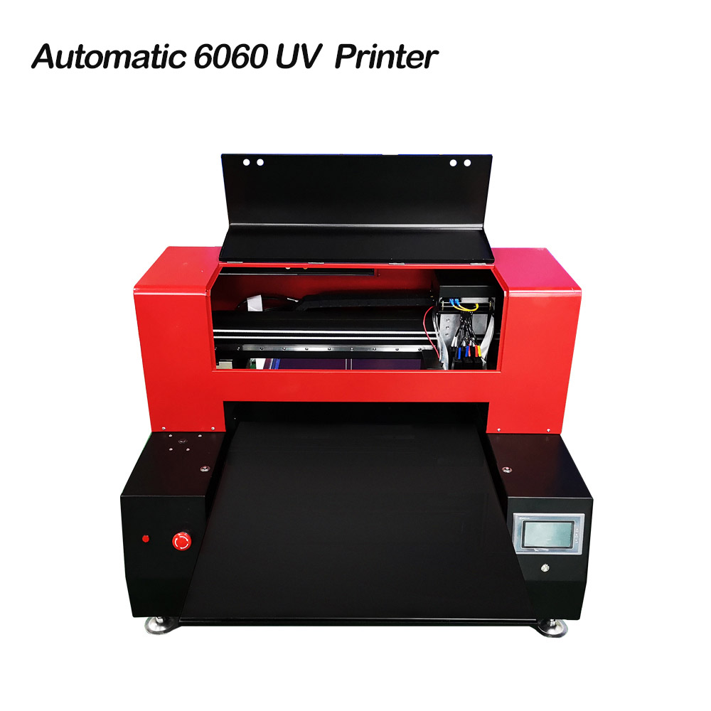 Automatic 6060 UV Printer Large Format Digital Inkjet Printer With 2 Print  Head For Multifunction Printing Max Print 600x600mm -in Printers from  Computer ...