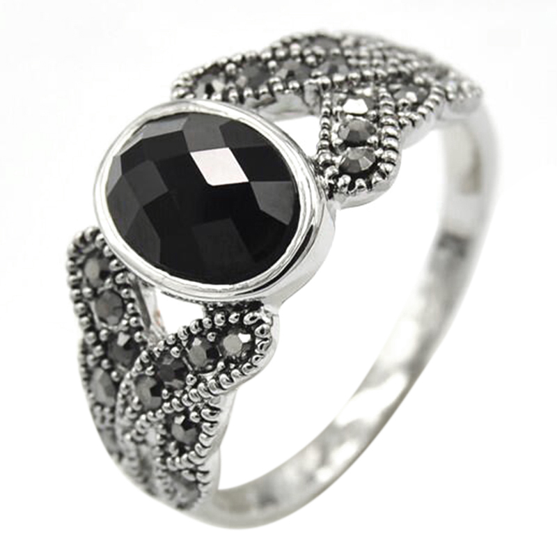 black product in ring lyst jay gallery lane jewelry kenneth rings oversized normal