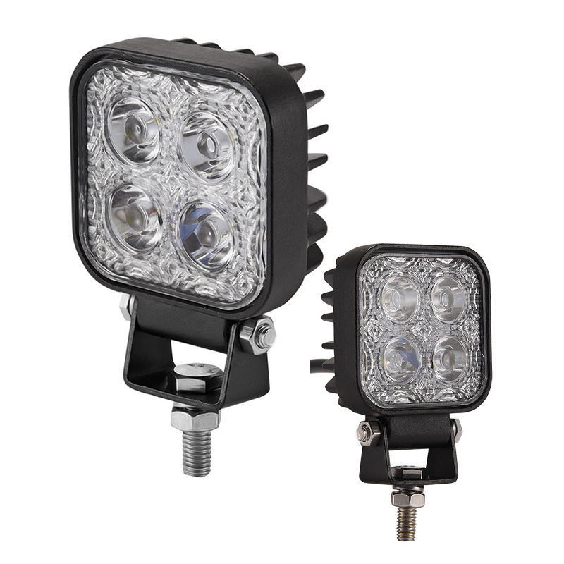 2Pcs Mini 6 Inch 12W Car LED Work Light Bar Driving Light as Worklight Flood Spot