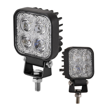 2Pcs Mini 6 Inch 12W Car LED Work Light Bar Driving Light as Worklight Flood/Spot Light 4x3W for Boating Hunting Fishing Offroad