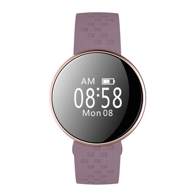 B16 Smart Wristband Watch Heart Rate Monitor Remote Bluetooth Health Sleep Bracelet Fitness Reminder Smartband 2018