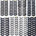 Новые 2/5/10 пар натуральные накладные Искусственные ресницы длинный макияж 3d норковые ресницы наращивание ресниц норковые ресницы для красо...
