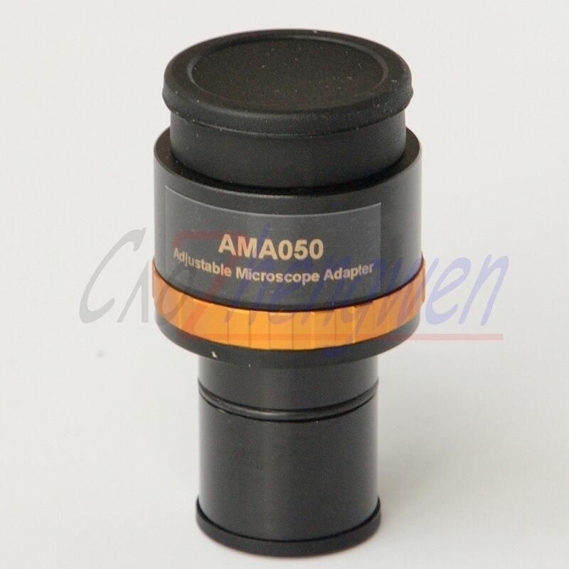 Il trasporto libero, CE Focusable Fotocamera Microscopio 0.5X oculare adattatore con 23.2mm interfaccia & C montaggio A Vite per Microscopio fotocamera
