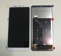 Axisinternational For 5 99 Xiaomi Redmi 5 Plus LCD Screen Display Touch Panel Digitizer White Black