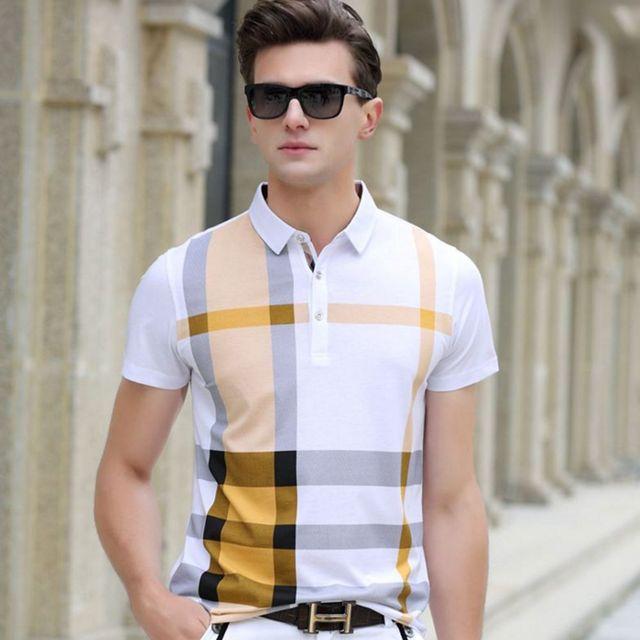 Shirt Rushed Hot Sale New Arrival Striped Short High Quality Men's 2016 Summer Stripe 100% Cotton Man Business Mens Brands
