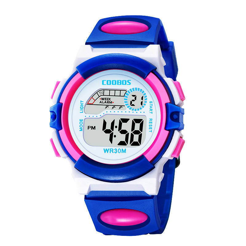 Dropshipping Children's Watch High Quality Dropshipping Kids Wrist Watch Boy Girl Watches Student Multifunction Child Baby Clock