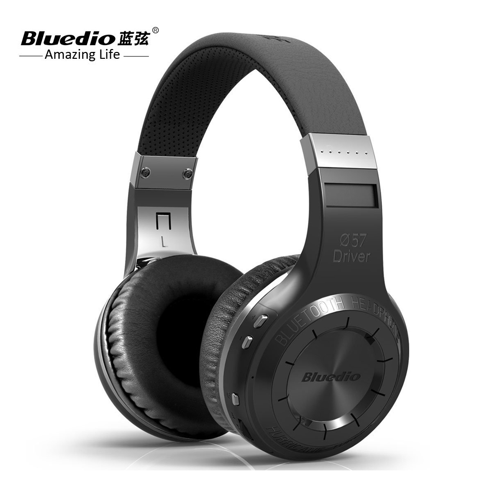 100% Original Bluedio HT Bluetooth casque stéréo sans fil casque HIFI avec HD Mic bandeau Style Bluetooth casque G