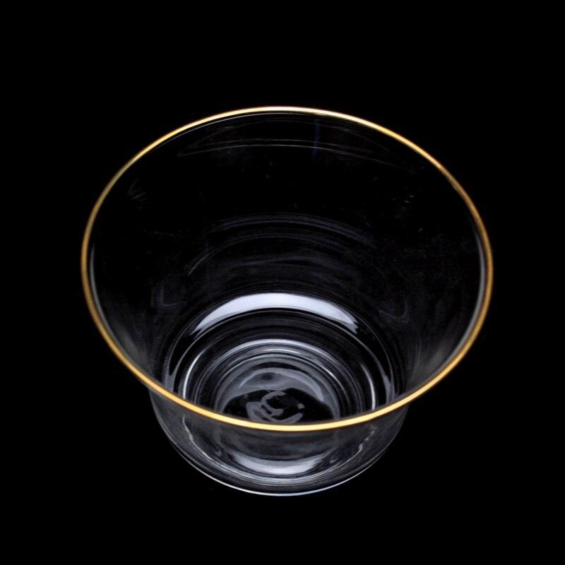 Ensemble de thé de cérémonie de thé de kung fu de bol de couverture en verre résistant à la chaleur et résistant à la chaleur trois tasses de tasses de thé et de thé cu - 4