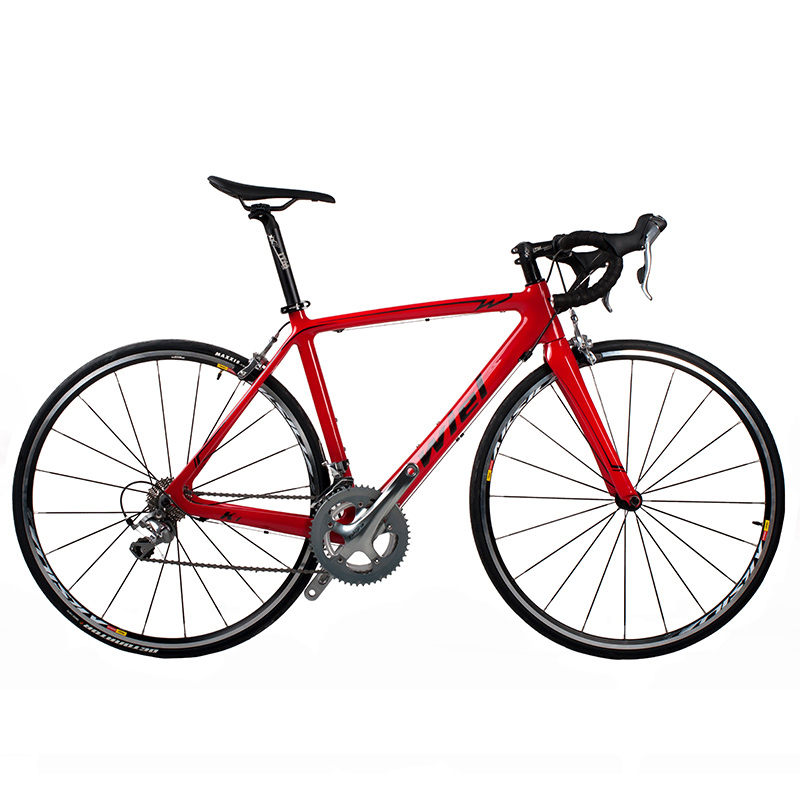 WIEL K1 700Cx52cm Road Bike Carbon Fiber Frame / Fork Cycling Bicycle 20 Speed <font><b>TIAGRA</b></font> <font><b>4700</b></font> <font><b>Groupset</b></font> MAVIC AK Wheels image