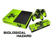 Biological Hazard XBOXONE Skin XBOXONE Stickers + 2Pcs Controller Skin Console Stickers XBOX1 X1 Protective Skin XBOX ONE
