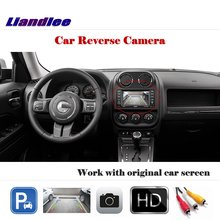 Liandlee Auto Rearview Reverse Camera For Jeep Patriot 2013~2017 / HD CCD Rear Parking Back Work with Car Factory Screen