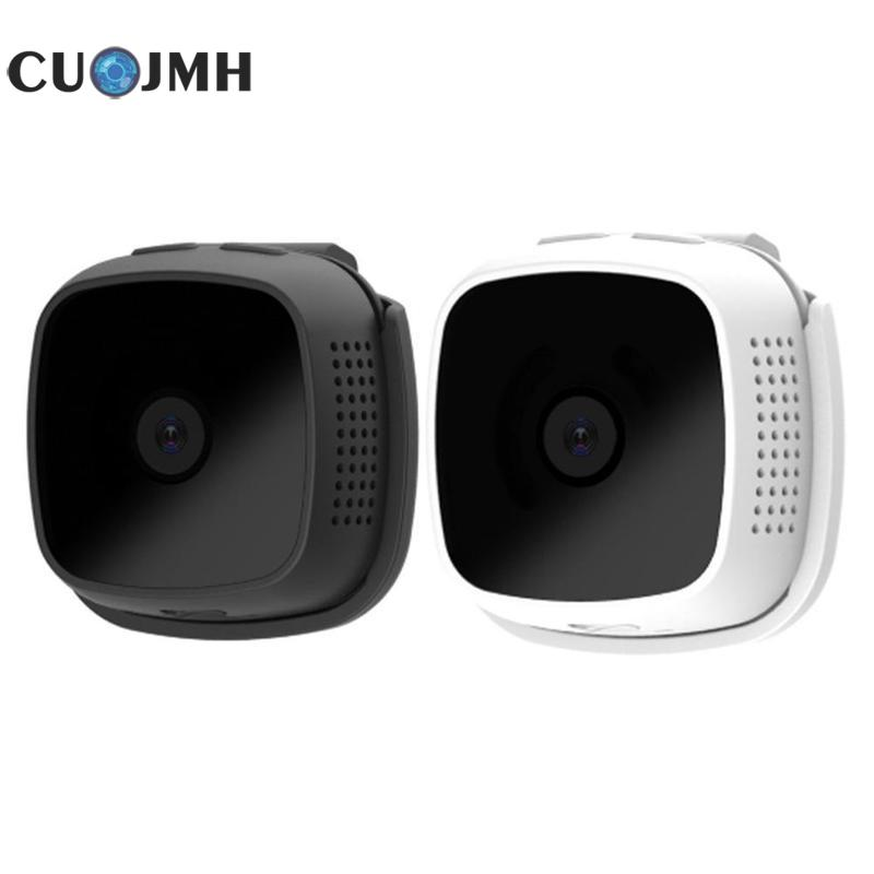 1 Pcs C9 Wireless Webcam Hd Smart Wear Remote Smart Home Monitoring With Wifi Small Camera 2 Colors Camera Lens Monitoring цена