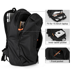 Image 4 - New Arrival USB Charging Laptop Backpack 15.6 inch Men School Bags For Teenage Boys College Travel Backpack Male Mochilas M808