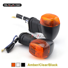 Front Turning Signals Left/Right Lamp Light Motorcycle For KAWASAKI NINJA 500 ZRX/1200S EX500 GPZ 500/1100 Accessories
