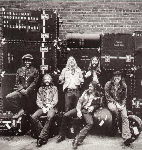 Allman Brothers Band <font><b>The</b></font> 1971 Fillmore East Recordings 3 <font><b>Blu-Ray</b></font> Pure Audio EX brand new European version 07.2016