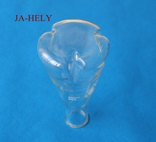 4pcs/lot 2000ml 3000ml Glass 3 baffles erlenmeyer flask baffled shake flask for lab