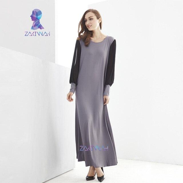 10021 Бесплатная доставка девушки модальный ропа musulman нобелевской исламский хиджаб два цвета сращены мусульманских женщин платье фотографии