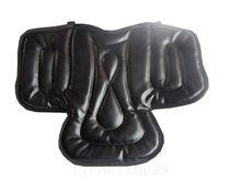 Конный верховая седло езда сиденья оборудование мягкая pad черный