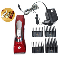 Electric Dog Hair Trimmers Pet Dogs Clipper Trimmer Grooming Shaver Razor Set with 8mm 12mm 16mm 20mm Comb Sets JY