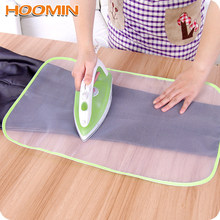 HOOMIN Protective Insulation Ironing Board Cover Random Colors Against Pressing Pad Ironing Cloth Guard Protective Press Mesh(China)