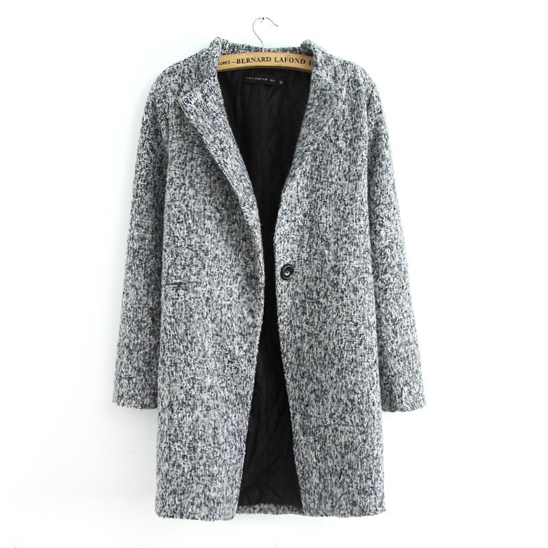 Compare Prices on Grey Tweed Coat- Online Shopping/Buy Low Price ...