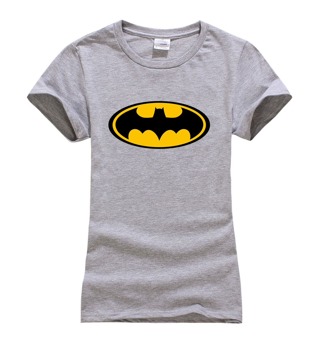 2017 Summer Superman Series Cartoon Batman t shirt women fashion brand slim fit tops hot sale short sleeve o-neck t-shirt women