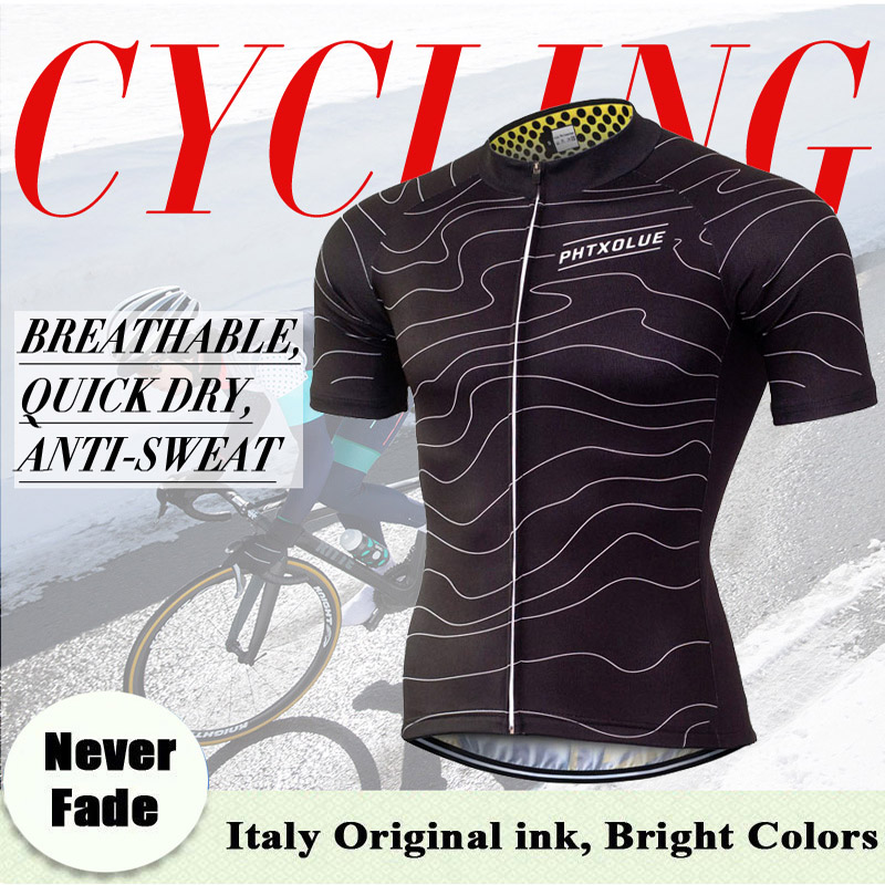 Phtxolue 2019 Summer Cycling Jersey Mountain Bike Clothing Racing MTB Bicycle Clothes 100 Polyester Cycling Clothing Uniform in Cycling Jerseys from Sports Entertainment