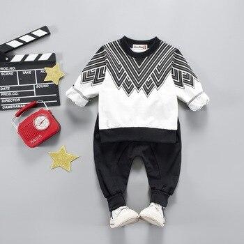 11a5225f8116 Комплекты одежды для маленьких мальчиков и девочек, 2018 модный костюм для  мальчиков, Повседневные детские спортивные костюмы, спортивный ко.