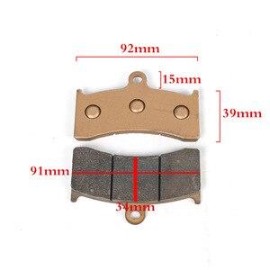 Image 5 - Motorcycle brake caliper 40mm/100mm/84mm/82mm hole distance brake shoe AKCND/ADL/RPM For yamaha honda DUCATI Kawasaki  SUZUKI