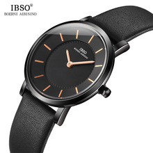 IBSO 7.6 MM Wrist Women Watches Hours Simple Female Clock Fashion Montre Femme 2019 Quartz Ladies Watch Relogio Feminino ibso hit color watches for female fashion cut glass design women quartz watch ladies magnet buckle wrist watches montre femme