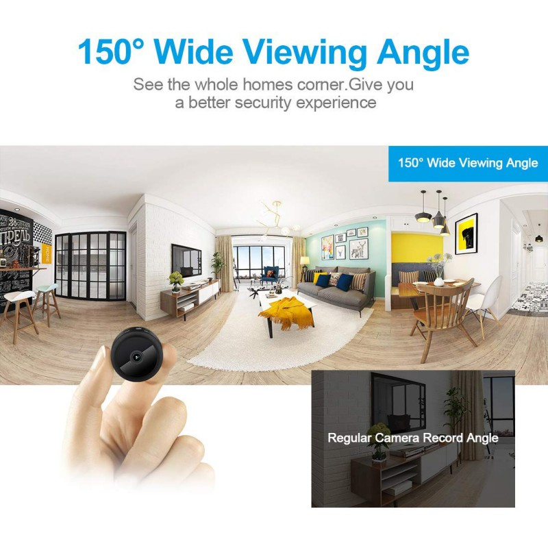 Mini Wifi Night Vision Camera