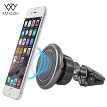Фотография XMXCZKJ Car Mount Holder Adjust Air Vent Magnetic Holder Universal Car Magnet Phone Holder For Iphone Samsung GPS Bracket