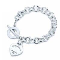 Tiff Kristie 100% 925 Silver Tag Purple Bracelet New Bracelet For Women